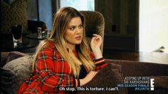 When your boss tries to crack a joke during a morning meeting.   24 Khloe Kardashian Reactions To Get You Through Life