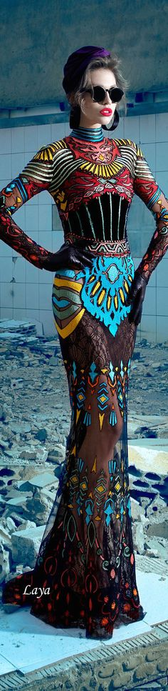 Nicolas Jebran F/W Couture 2013-14