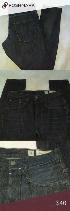 "NWOT ALLSAINTS  STRAIGHT LEG JEANS-SIZE 30 -ALLSAINTS Straight Leg Jeans -Size 30 -Brand New, Never Worn -Dark denim -5 Pockets -Excellent Quality Jeans -Inseam measures 30"" in length -Button Fly -100% Cotton ALLSAINTS  Jeans Straight Leg"