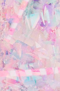 ピンクの結晶