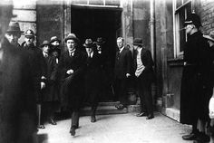 Michael Collins at handover of Dublin Castle Ireland 1916, Dublin Ireland, Irish Republican Brotherhood, Irish Independence, Irish Free State, Celtic Nations, Dublin Castle, Irish People, Michael Collins
