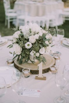 12 Simple White and Green Wedding Centerpieces on A Budget -.- 12 Simple White and Green Wedding Centerpieces on A Budget – EmmaLovesWeddings - Green Wedding Centerpieces, Wedding Bouquets, Centerpiece Ideas, Centrepieces, Floral Wedding, Wedding Flowers, Wedding White, Tree Wedding, Wedding Card