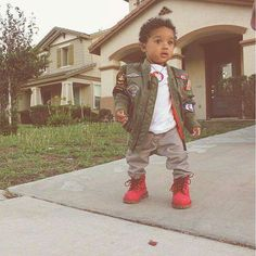 Swagg to the max Cute Black Babies, Black Kids, Cute Babies, Toddler Outfits, Baby Boy Outfits, Kids Outfits, Swag Outfits, Toddler Girls, Baby Girls