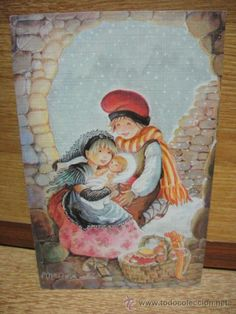 tarjeta de navidad - ilustra mª rosa solá - Foto 1