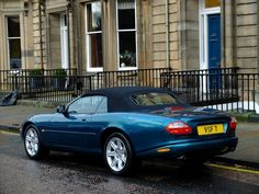 Used Jaguar Convertible in Edinburgh, Midlothian Edinburgh, Jaguar Xk8 Convertible, Period Color, Jaguar Models, Jaguar Daimler, Plastic Trim, Roof Rails, Tonneau Cover