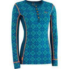 Kari Traa Rose W Merino Longsleeve grün blau Underwear Shop, We Wear, How To Wear, Ski Touring, Outdoor Wear, Cross Country Skiing, Longsleeve, Sport Outfits, Sportswear