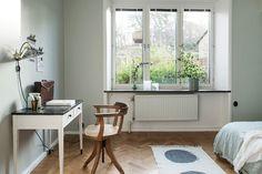 Samma vackra golv i detta rum