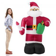 Skoro 2 metre vysoký Mikuláš je dokonalou dekoráciou do záhrady, obchodných priestorov alebo na spoločenských podujatiach. Ford, Ronald Mcdonald, Christmas Decorations, Santa, Ebay, Fictional Characters, Ps4, Success, Link