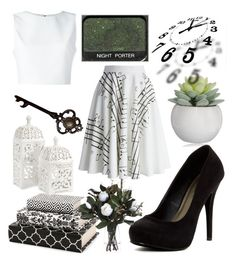 """""""☘🕊"""" by ravenelesig ❤ liked on Polyvore featuring Michael Antonio, Chicwish, Alice + Olivia and NARS Cosmetics"""