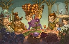Fairy food by John Rocco