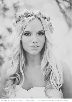 Beautiful hair..  I think I'm going to for sure do something different rather than the traditional veil