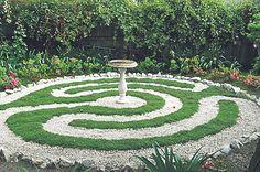 Labyrinth Garden Ideas | Mark Healy's magical paths & gardens | Sunshine Coast Hinterland ...