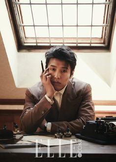 Kang Ha Neul & Park Jung Min for Elle Korea February Photographed by Kim S. Asian Actors, Korean Actors, Dramas, Kang Haneul, Jung Jaewon, Men Photoshoot, Beauty Around The World, Kdrama Actors, Moon Lovers