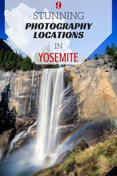 Some of the best spots in Yosemite for photography, including tips for where to get the best shots and some excellent viewpoints. Bring these tips with you when you travel to Yosemite National Park in California.