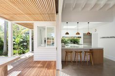 Kitchen Ideas Australia, Beach Design, Dream House Exterior, Outdoor Rooms, Home Interior Design, Exterior Design, Palm Beach, Sweet Home, New Homes