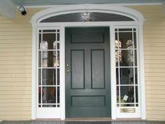 Yellow House Front Door Colors   Front Door Paint Colors - The Best Front Door Paint Colors ...