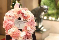 シェ松尾青山サロン様の装花 ローズライン : 一会 ウエディングの花