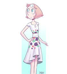 Perla Con Vestido