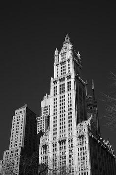 Woolworth Building - New York City. http://frank-romeo.artistwebsites.com/