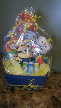 Nintendo super mario easter basket perfect for birthdays easter minion easter basket negle Image collections