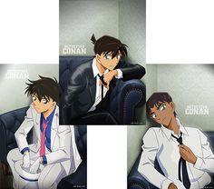 名探偵コナンひざ掛け(工藤新一、服部平次、怪盗キッド)