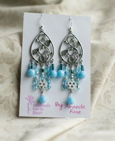 Hey, I found this really awesome Etsy listing at https://www.etsy.com/listing/164086385/light-blue-beaded-chandelier-earrings