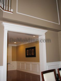 Painting Trim and Molding | trim around windows and doors greatly influences the look and style of ...