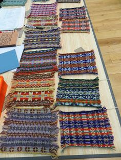 After the Wild Wool workshop it was a quick dash back into Lerwick for the Many Strands Make Interesting Yarns lecture from Fel. Knitting Stitches, Hand Knitting, Knitting Patterns, Vintage Knitting, Stitch Patterns, Shetland Wool Week, Fair Isle Pattern, Fair Isle Knitting, Weaving Patterns