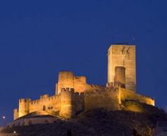 CASTLES OF SPAIN - El castillo de Biar se levanta sobre un cerro desde el que domina la localidad de Biar, en la comarca del Alto Vinalopó (Alicante). Durante la dominación musulmana ya hay noticias, de la fortaleza, que no empezó a tener relevancia hasta
