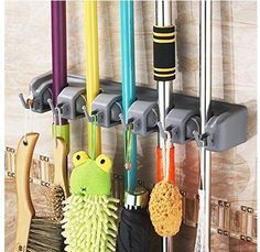 YUYIKES Mop and Broom Holder Wall Mount Garden Tool Rack with 5 Non-slip Automatically Holders and 6 Hooks, http://www.amazon.co.uk/dp/B01GYMK1LK/ref=cm_sw_r_pi_s_awdl_SOXMxbN281WNZ