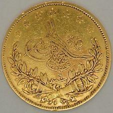 Ottoman Empire, 100 Kurush Gold coin AH1255/6 minted in Turkey