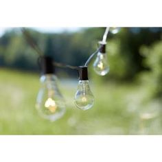 Edison 10-Light Outdoor Decorative Clear Bulb String Light KF01615 at The Home Depot - Mobile