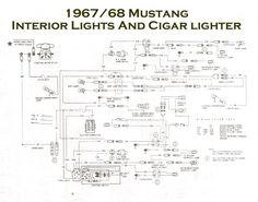 1967 mustang wiring to tachometer |  1968-mustang-wiring, Wiring diagram