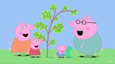 Peppa Pig: Mr Dinosaur is Lost. Сartoons for kids/children. HD