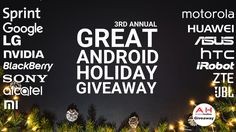 #Android Holiday Giveaway 2017/2018 – Over 30 Prizes http://bit.ly/GAHG2017 Win with @Androidheadline @sprint @MotorolaUS @madebygoogle @zteusa @HuaweiMobile @JBLaudio @nvidia @ASUSUSA @AlcatelMobileUS @BBMobile @HTCUSA @LGUSAMobile @xiaomi @iRobot @SonyXperiaUS