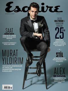Turkish actor Murat Yildirim covers Esquire Magazine [Turkey] (March 2017) http://ift.tt/2mmVCf3