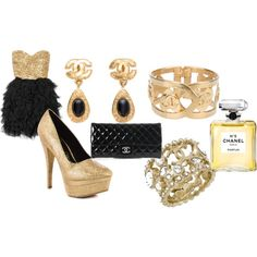 Evening with Chanel, created by trishbartose on Polyvore trishbartose