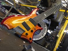 """#002 dubbed """"Iron Man"""", the RingMaster 8 via b3 Guitars, the dawn of a new era.......the Evolution continues"""