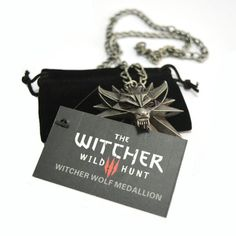 The Witcher Pendant Necklace - Mopixie Store  | Mopixiestore.com
