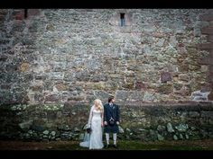 Comlongon Castle Wedding Photography // Danielle & Stewart