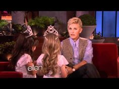 Sophia Grace and Rosie See Fairies.    If you've ever wondered where Sophia Grace and Rosie get all of their energy, talent and charisma, it looks like the answer is fairy dust! They told Ellen a very strange and exciting story about magical adventures. If you know what they're talking about, please let us know.
