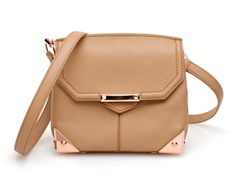 ALEXANDER WANG 205038 MARION TOFFEE W/ROSE G