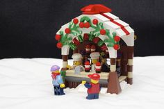 Winter Village Chocolate Stand | by aguarniz
