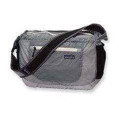 Patagonia lightweight travel courier.  Possible diaper bag?