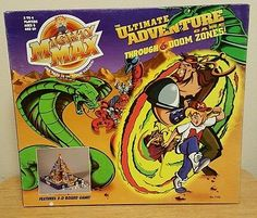 Rare 90s Mighty Max the Ultimate Adventure 3-D board Game Mattel Only 1 Online*