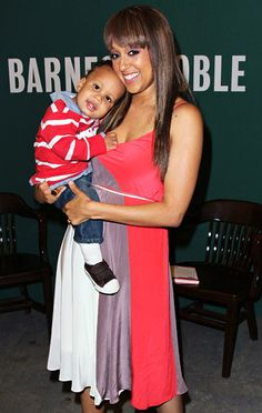 Tia Mowry with son Cree