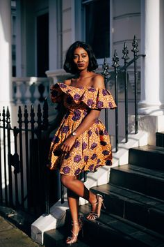 Styling African Prints by Jennifer amani