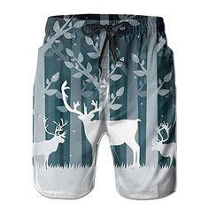 Dabbing Unicorn Heart Men Girls Kid Galaxy Space Teen Swim Trunks Bathing Suit Shorts Board Beach