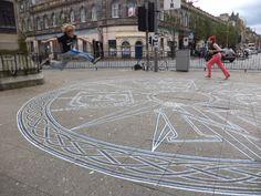Kirk Gate Compass Jumper Leith Scotland 2011