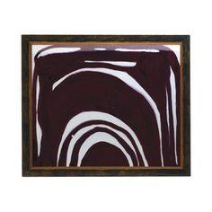 Fuchsia Curve Artwork Framed Print